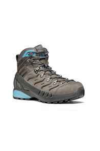 Scarpa Cyclone GTX Hiking Boots — Women's, Gull Gray/Arctic, hi-res