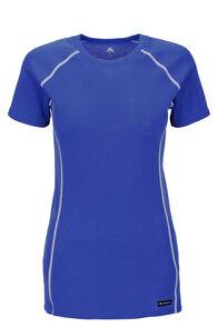 Macpac Geothermal Short Sleeve Tee — Women's  (V2), Dazzling Blue, hi-res