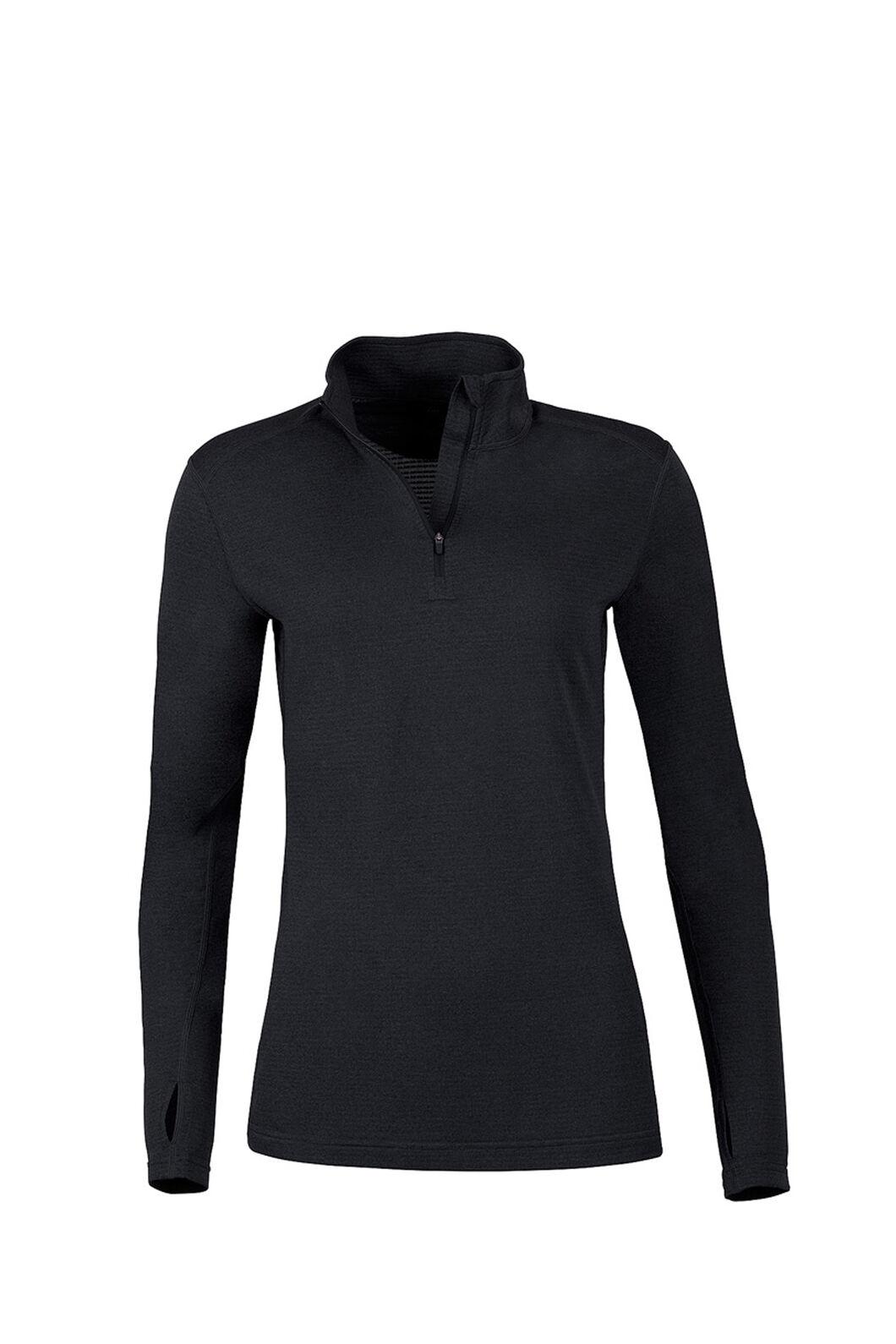 Macpac Prothermal Polartec® Long Sleeve Top — Women's, Black, hi-res