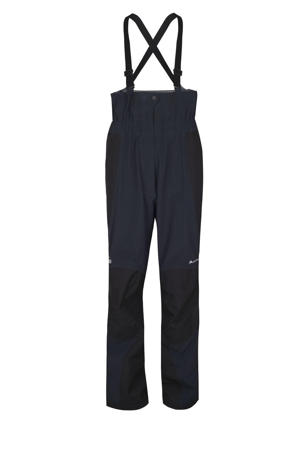 Macpac Barrier Bib Pertex® Rain Pants - Women's, Black, hi-res