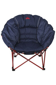Macpac Moon Quad Folding Chair, Navy/Red, hi-res