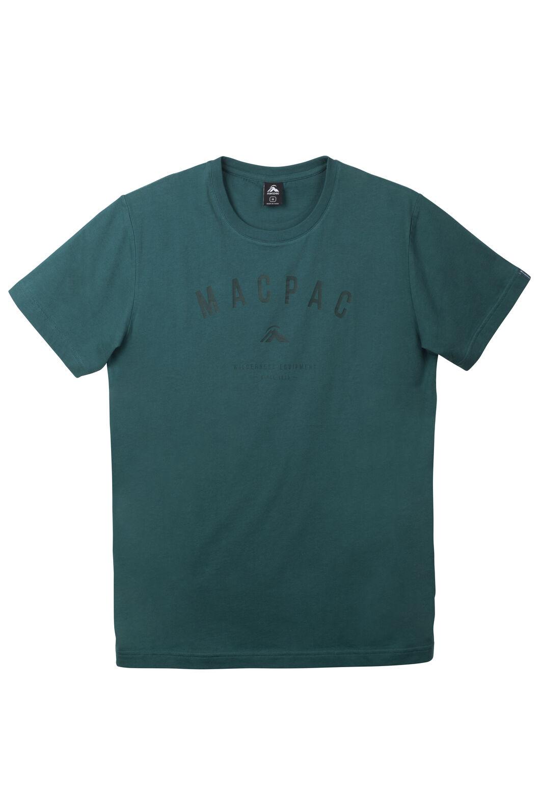 Macpac Graphic Organic Cotton T-Shirt - Men's, Pacific, hi-res