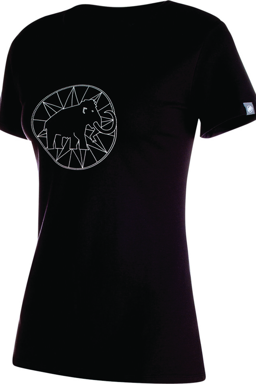 Mammut Logo T-Shirt - Women's, Black, hi-res