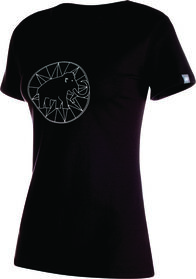 Mammut Logo T-Shirt - Women's, Black, hi-res