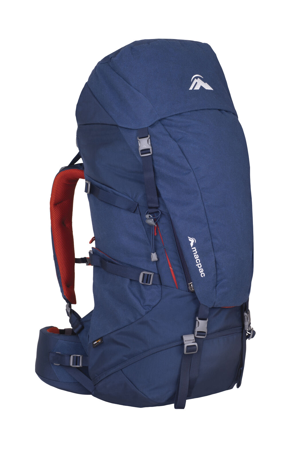 Macpac Torlesse 65L AzTec® Zip Hiking Pack, Black Iris, hi-res