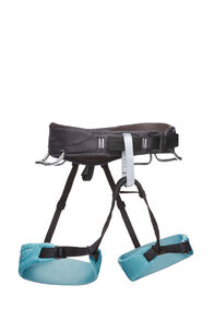 Black Diamond Momentum Harness — Women's, Grey/Blue, hi-res