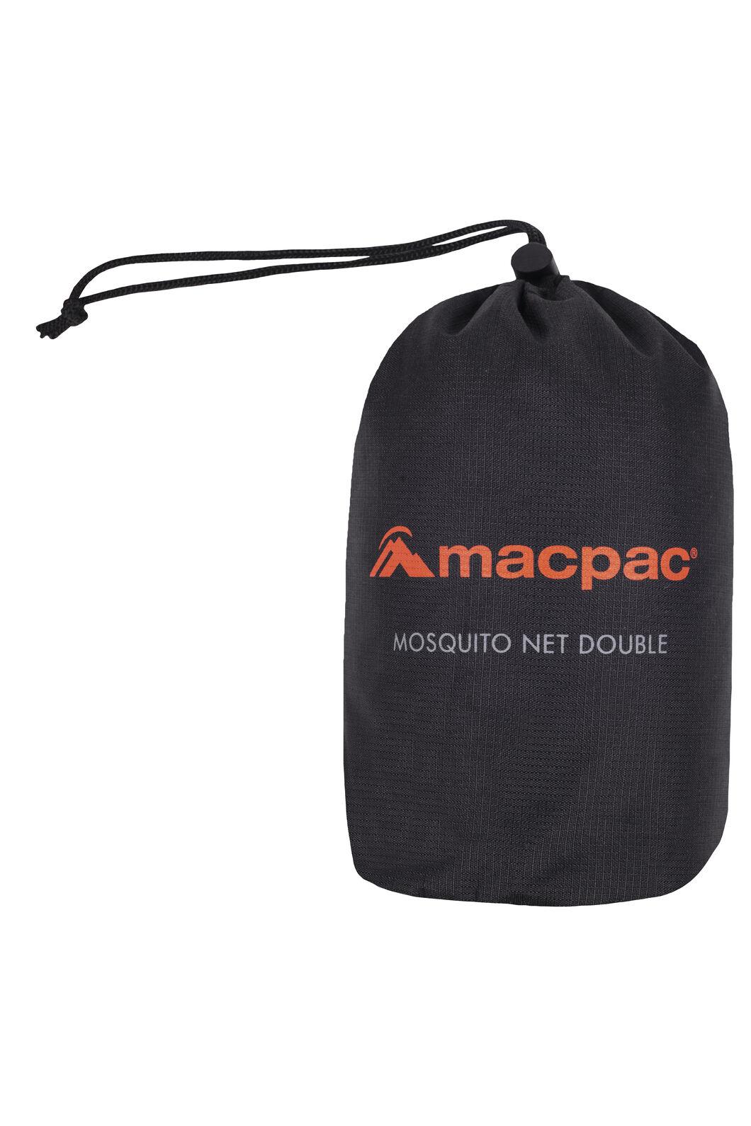 Macpac Mosquito Net Double, Black, hi-res