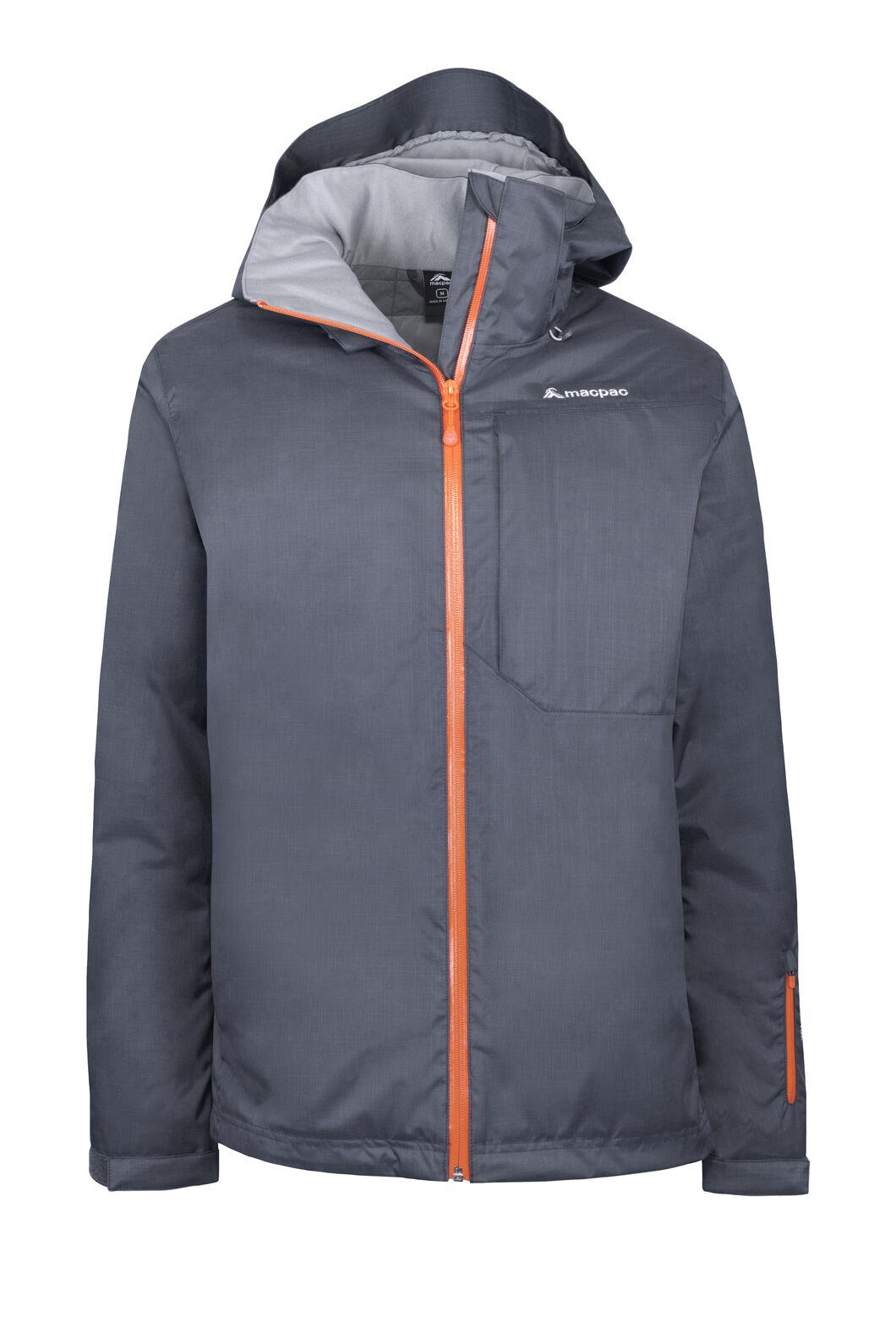 Macpac Powder Reflex™ Ski Jacket — Men's, India Ink/Flame, hi-res