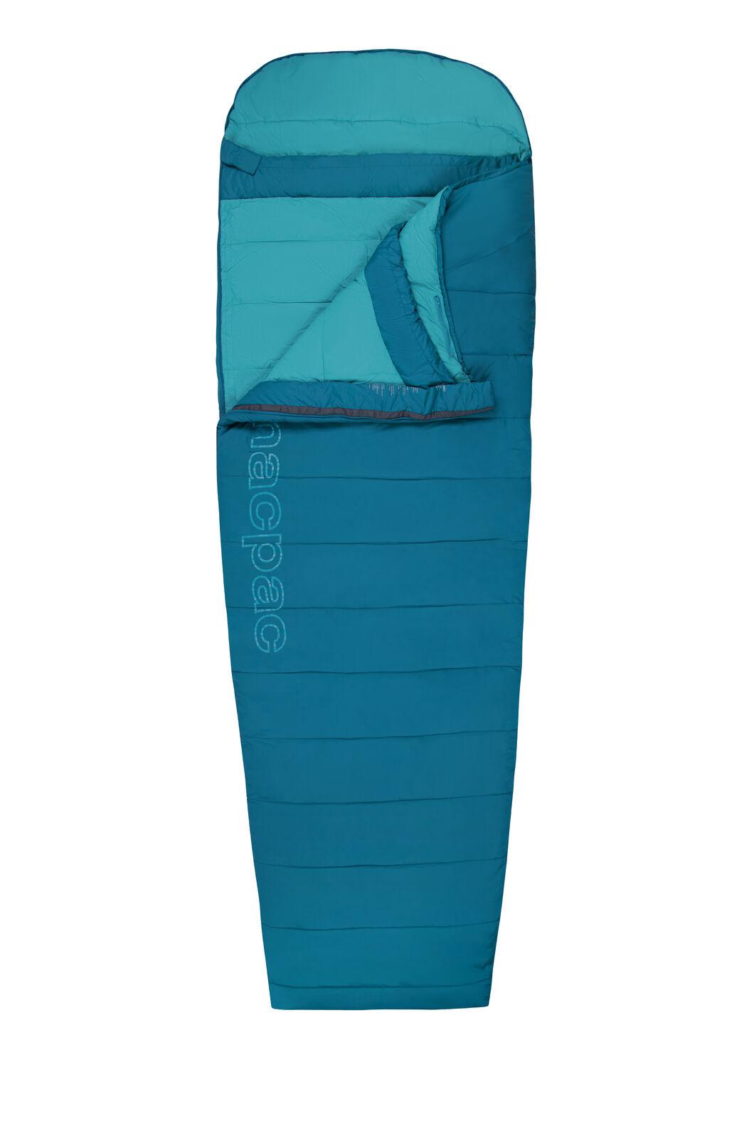 Macpac Roam 200 Sleeping Bag — Extra Large, Morrocan Blue/Larkspur, hi-res