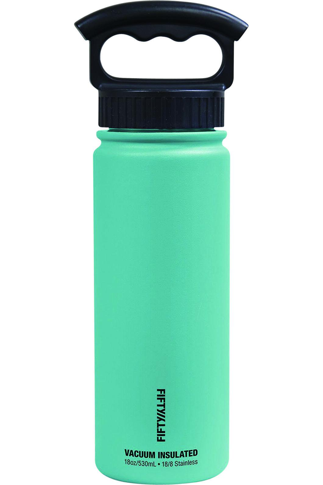 FIFTY/FIFTY® 18oz Insulated Bottle, Aqua, hi-res