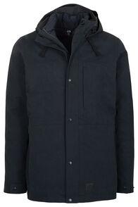 Macpac Men's Element Three-In-One Pertex® Coat, Black, hi-res