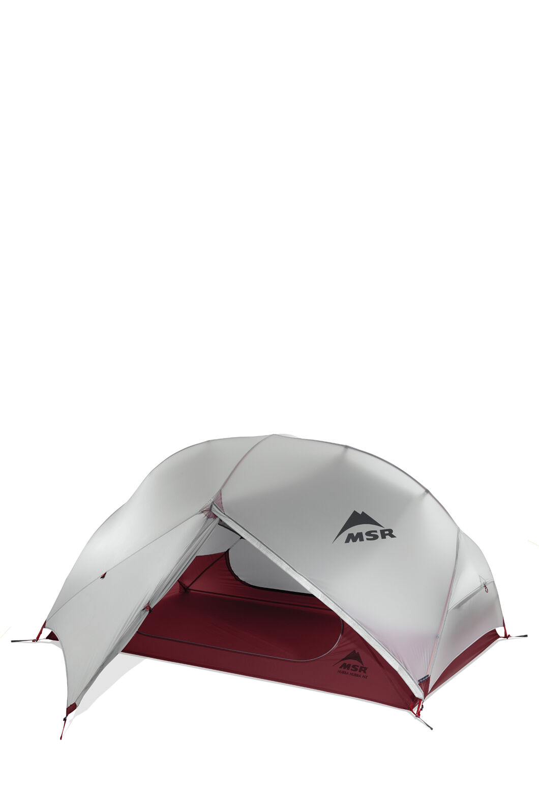 MSR Hubba Hubba NX 2 Person Backpacking Tent, Red/White, hi-res