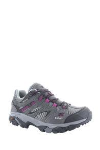 Hi-Tec Ravus Vent WP Hiking Shoes - Women's, Charcoal/Cool Grey/Amaranth, hi-res