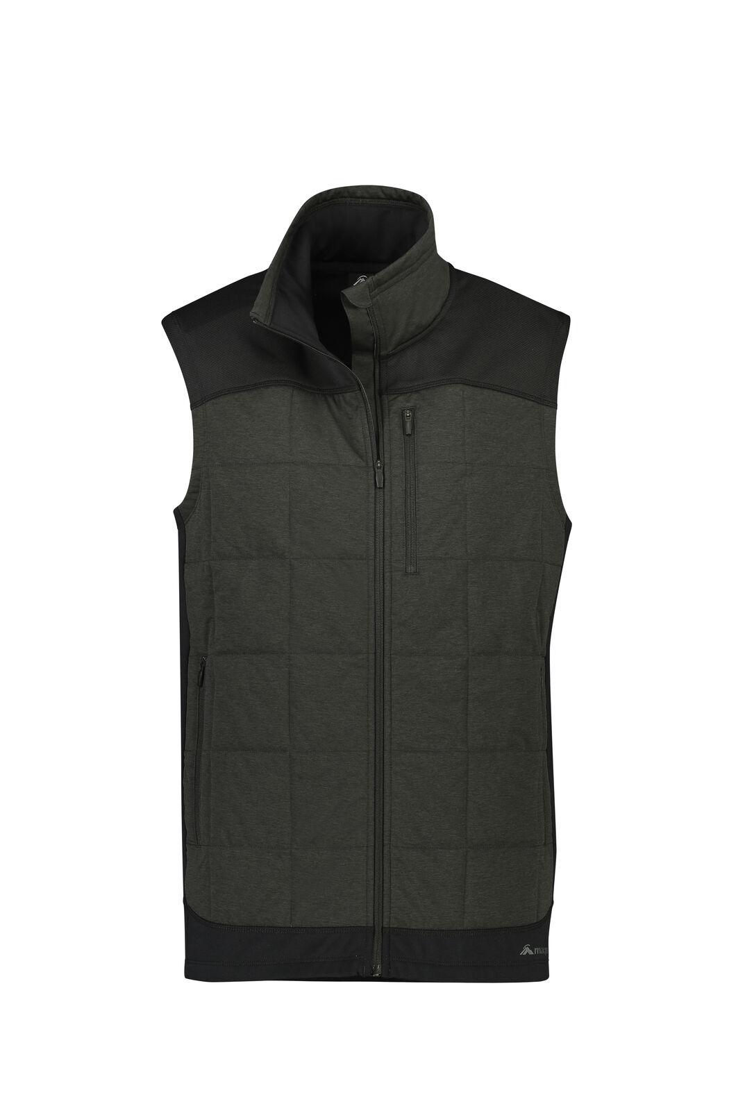 Macpac Accelerate PrimaLoft® Fleece Vest — Men's, Black, hi-res
