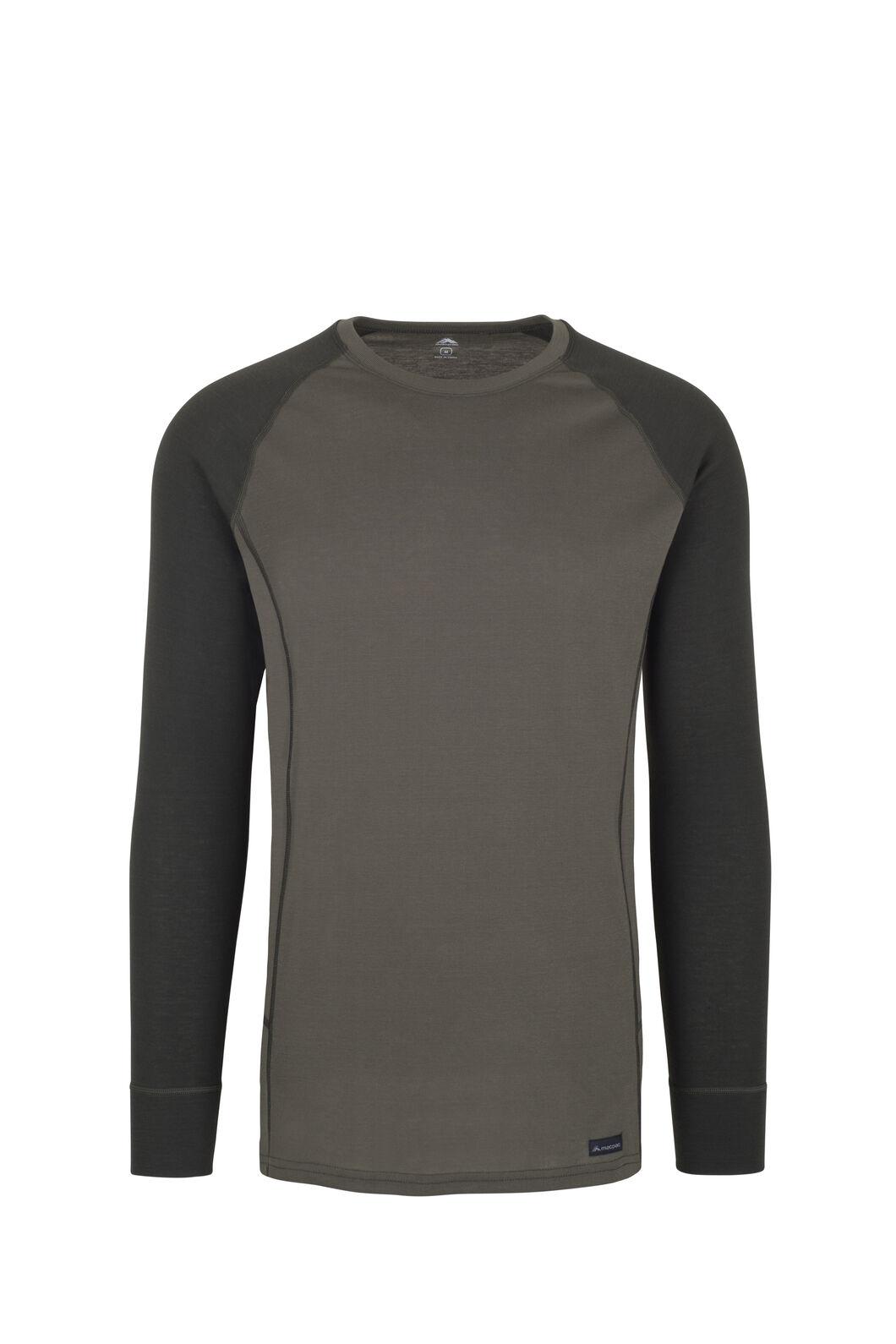 Macpac Geothermal Long Sleeve Top — Men's, Grape Leaf/Peat, hi-res