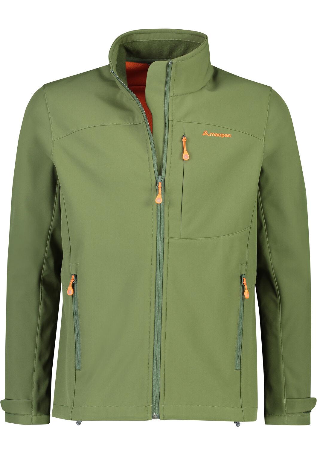 e30ad999 Macpac Sabre Softshell Jacket - Men's, Rifle Green/Koi, ...