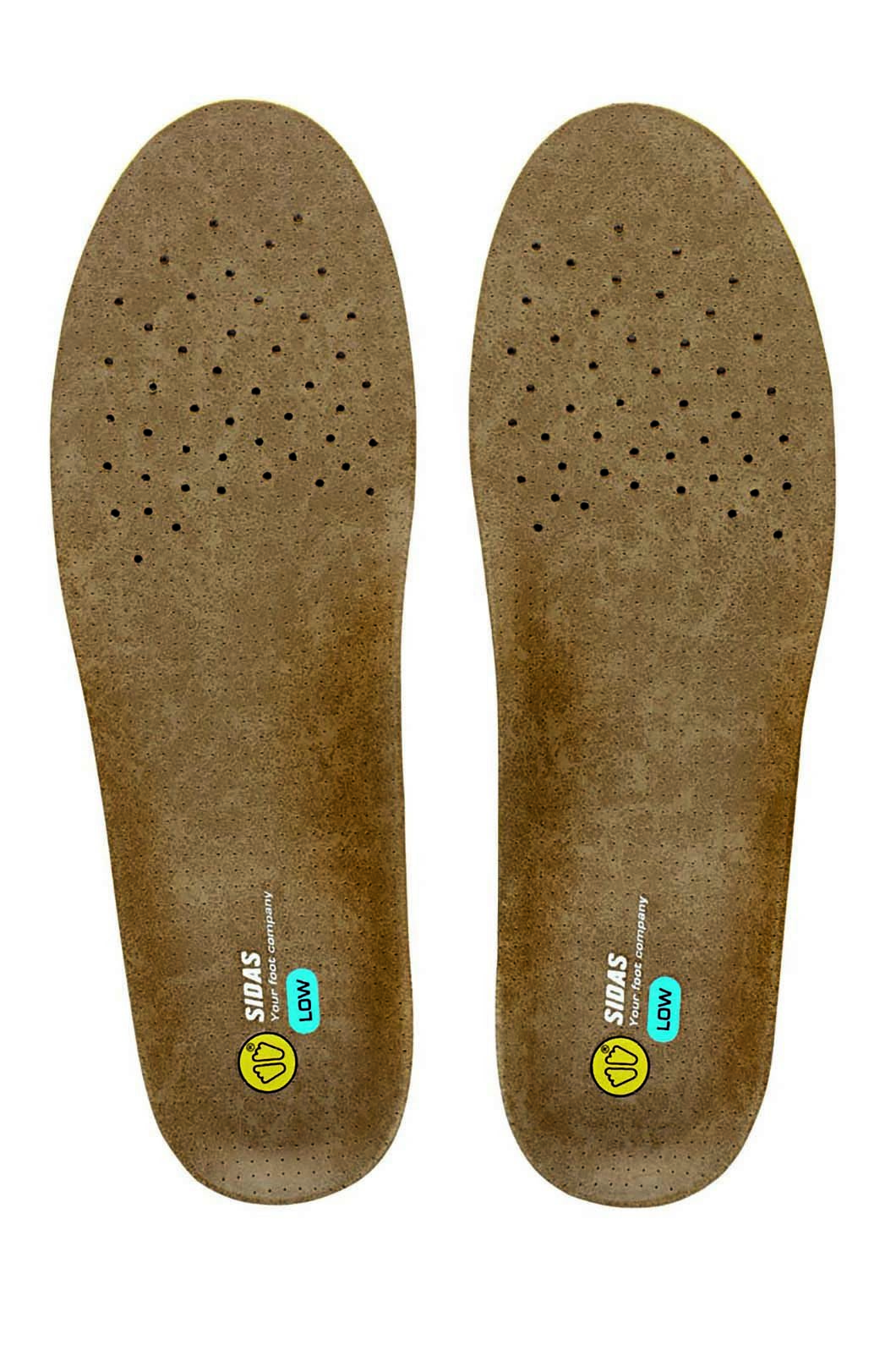 Sidas 3 Feet Outdoor Low Innersole, Brown, hi-res