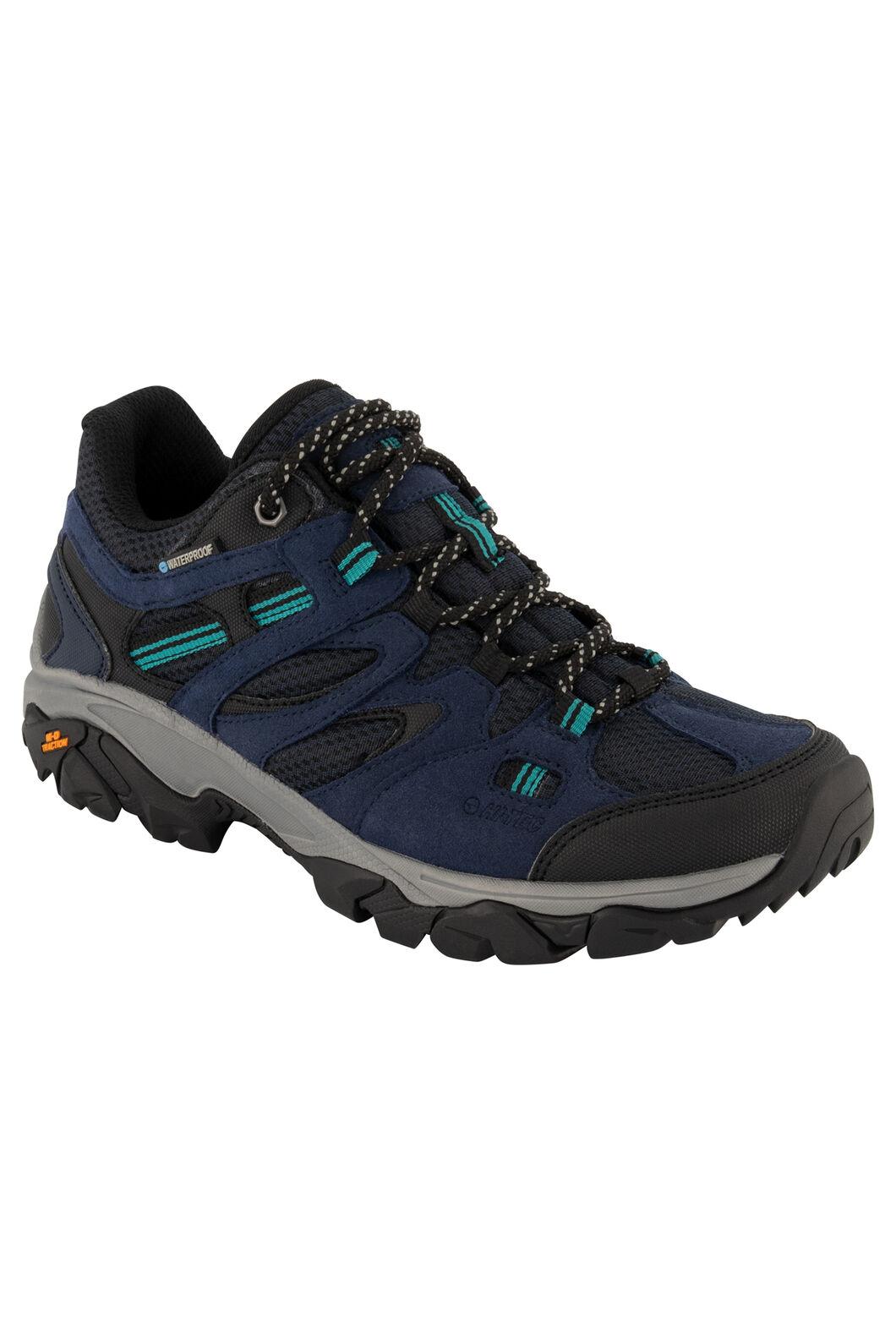 Hi-Tec Ravus Vent Lite WP Low Hiking Shoes — Women's, Midnight/Black Navigate, hi-res