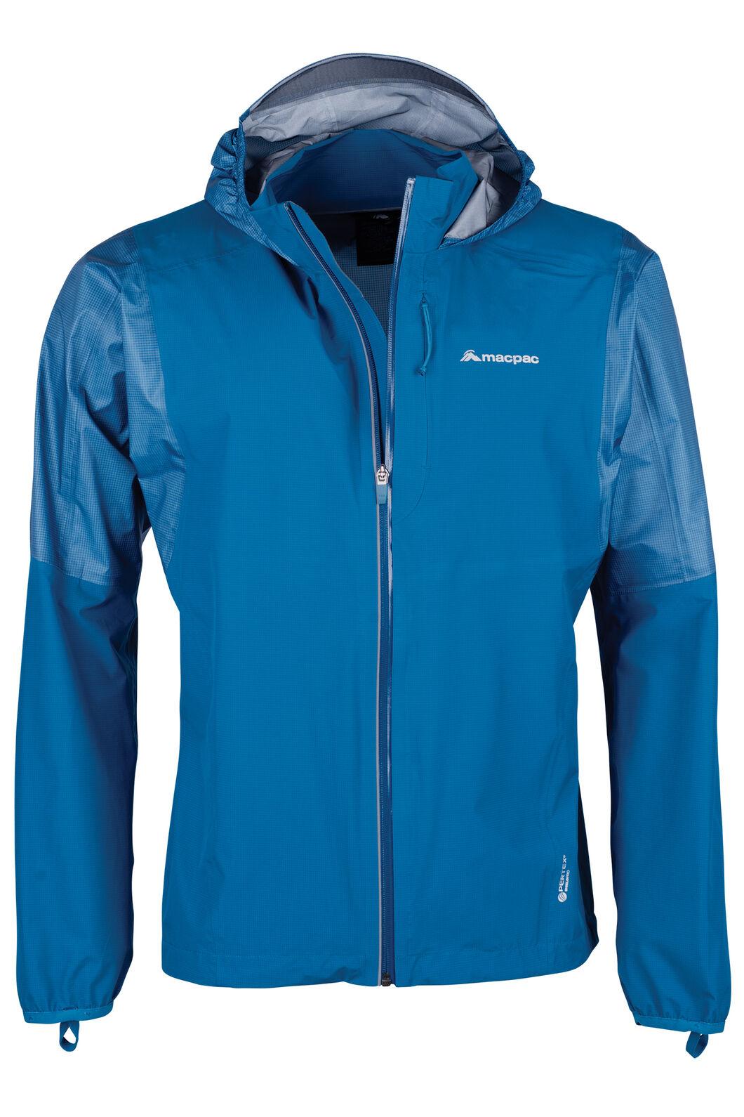 Macpac Transition Pertex® Rain Jacket - Men's, Sapphire, hi-res