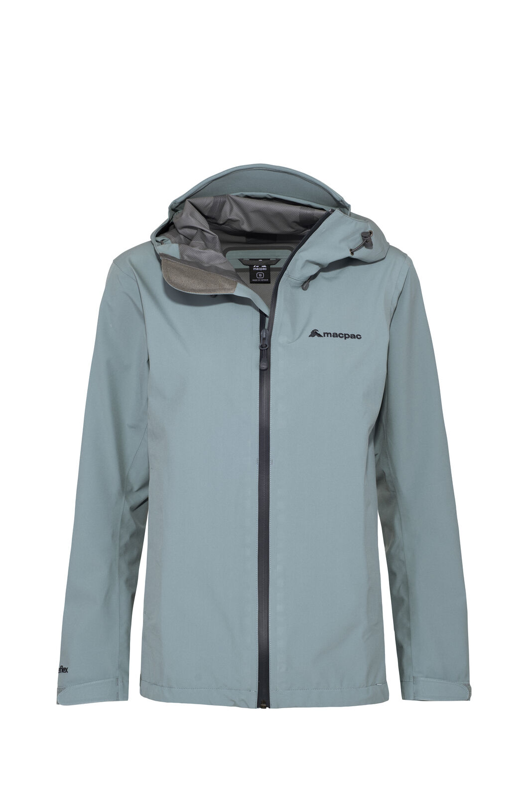 Macpac Dispatch Rain Jacket — Women's, Stormy Sea, hi-res
