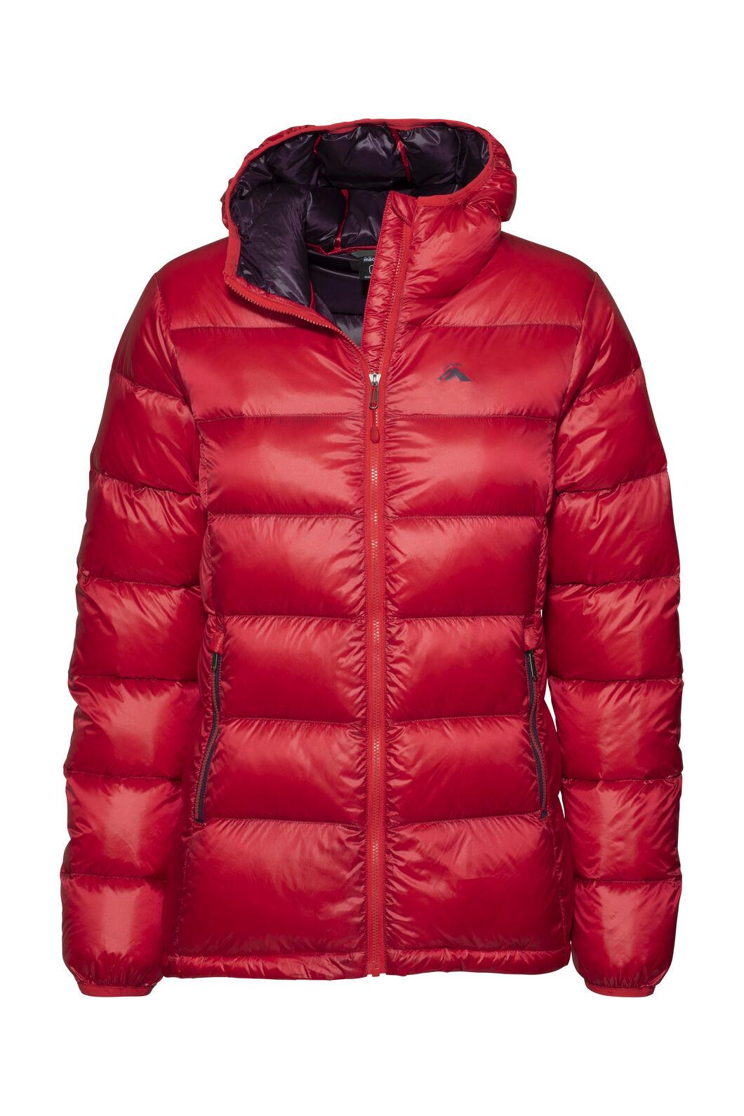 Macpac Jupiter Hooded Down Jacket — Women's, Lollipop, hi-res