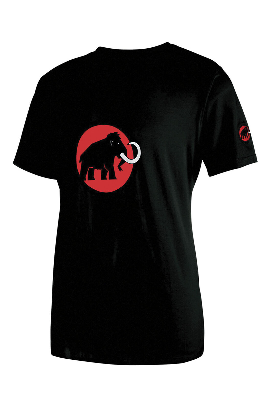 Mammut Logo T-Shirt - Men's, Black, hi-res