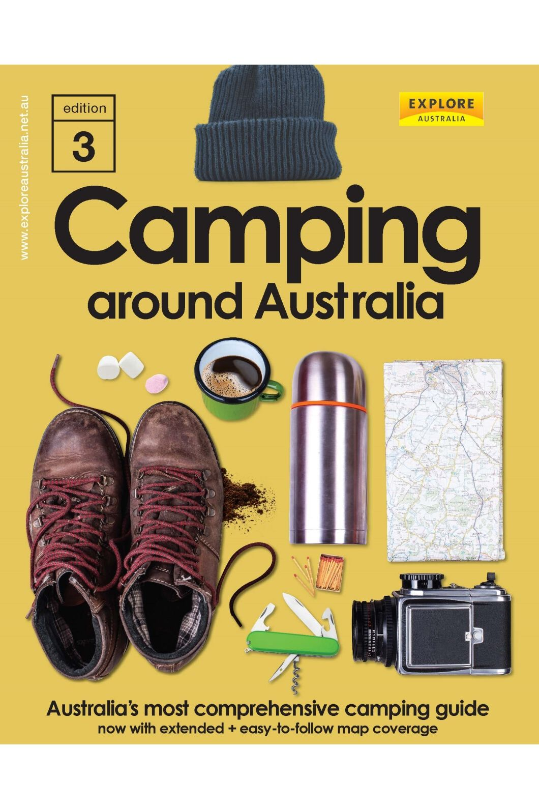 UBD Camping Around Australia 3rd Edition, None, hi-res