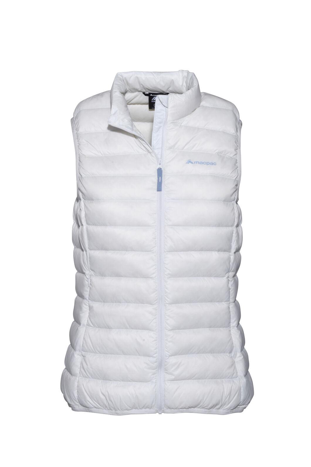 Macpac Uber Light Down Vest — Women's, Nimbus Cloud, hi-res