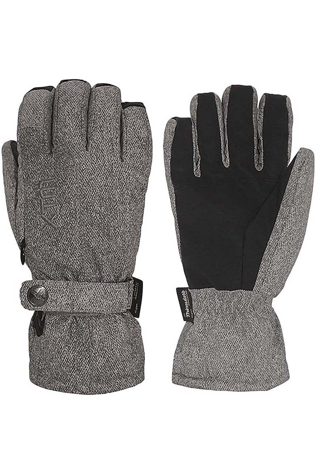 XTM Women's Sapporo Gloves Light, Light Grey Marle, hi-res
