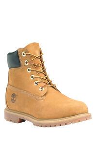 Timberland 6-Inch Premium WP Boots — Women's, Wheat/Nubuck, hi-res