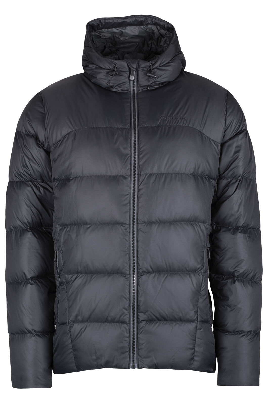 Macpac Sundowner Hooded HyperDRY™ Down Jacket - Men's, Black, hi-res