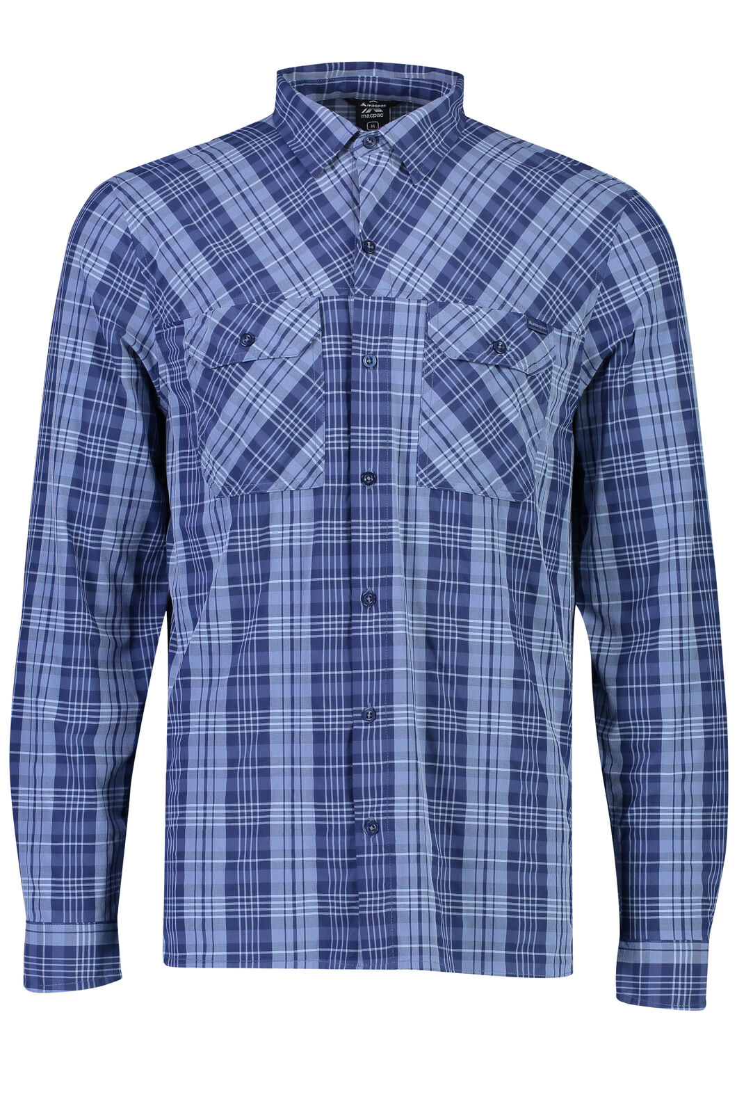 Eclipse Long Sleeve Shirt - Men's, Medieval Blue, hi-res