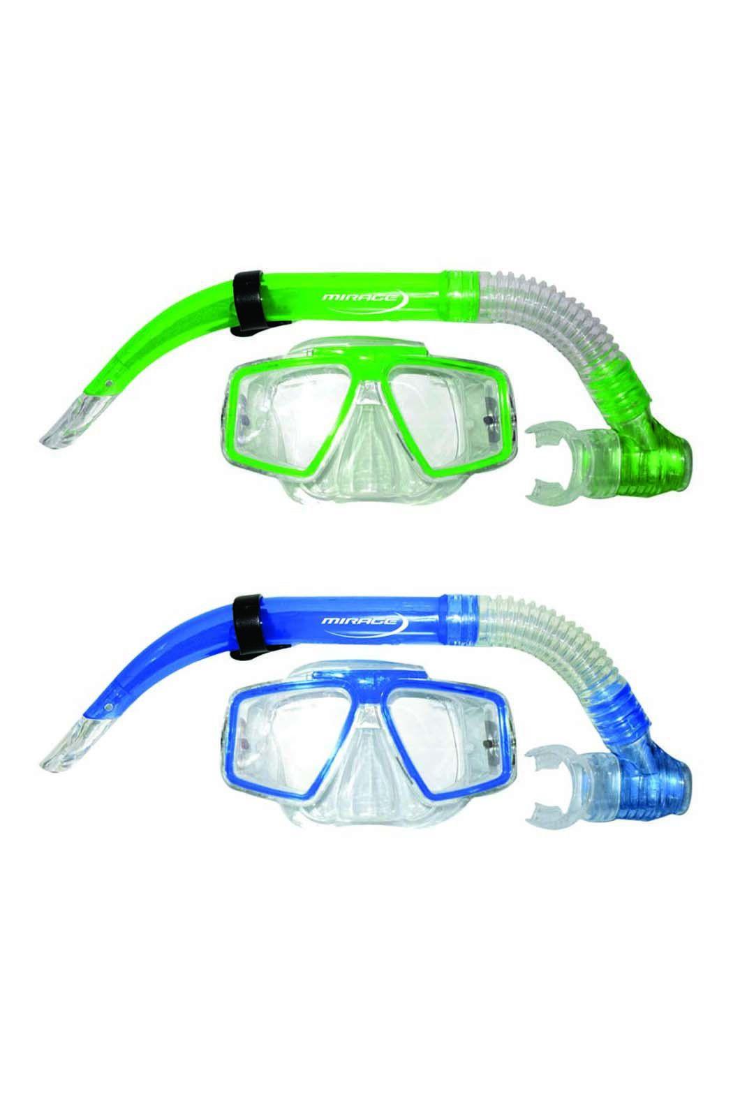 Mirage Quest Mask & Snorkel Set, None, hi-res