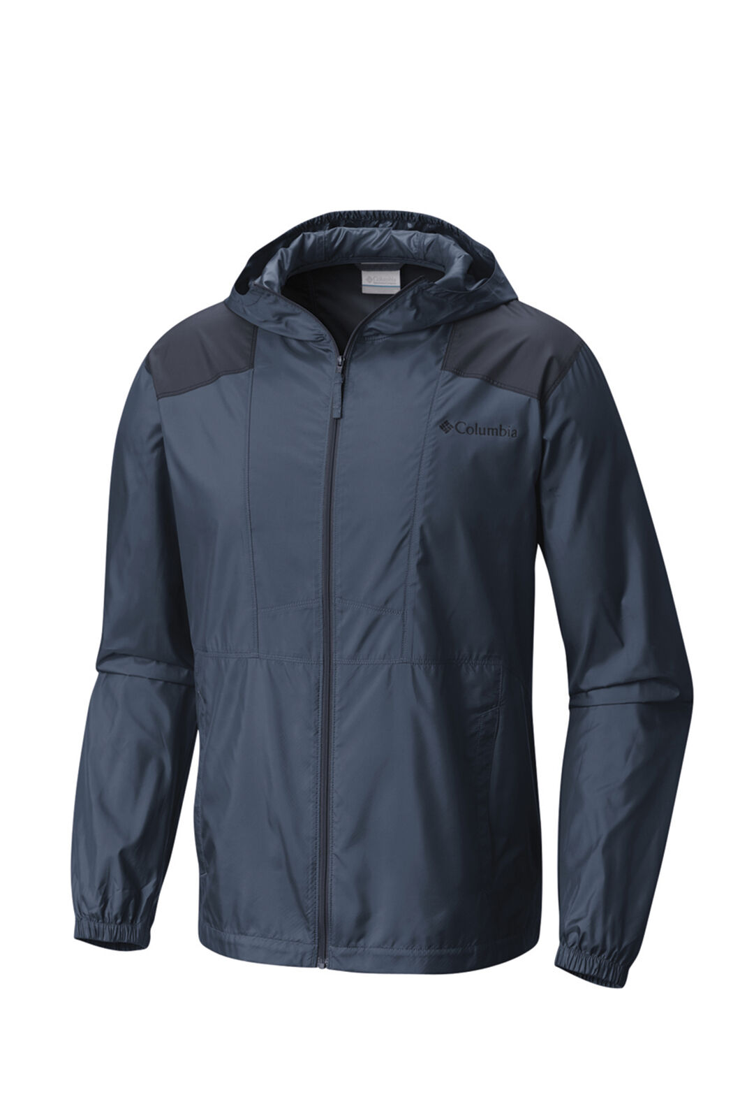 Columbia Men's Flashback Windbreaker Jacket, WHALE, hi-res