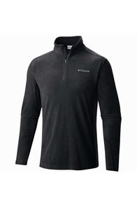 Columbia Men's Klamath II Half Zip Fleece, Black, hi-res