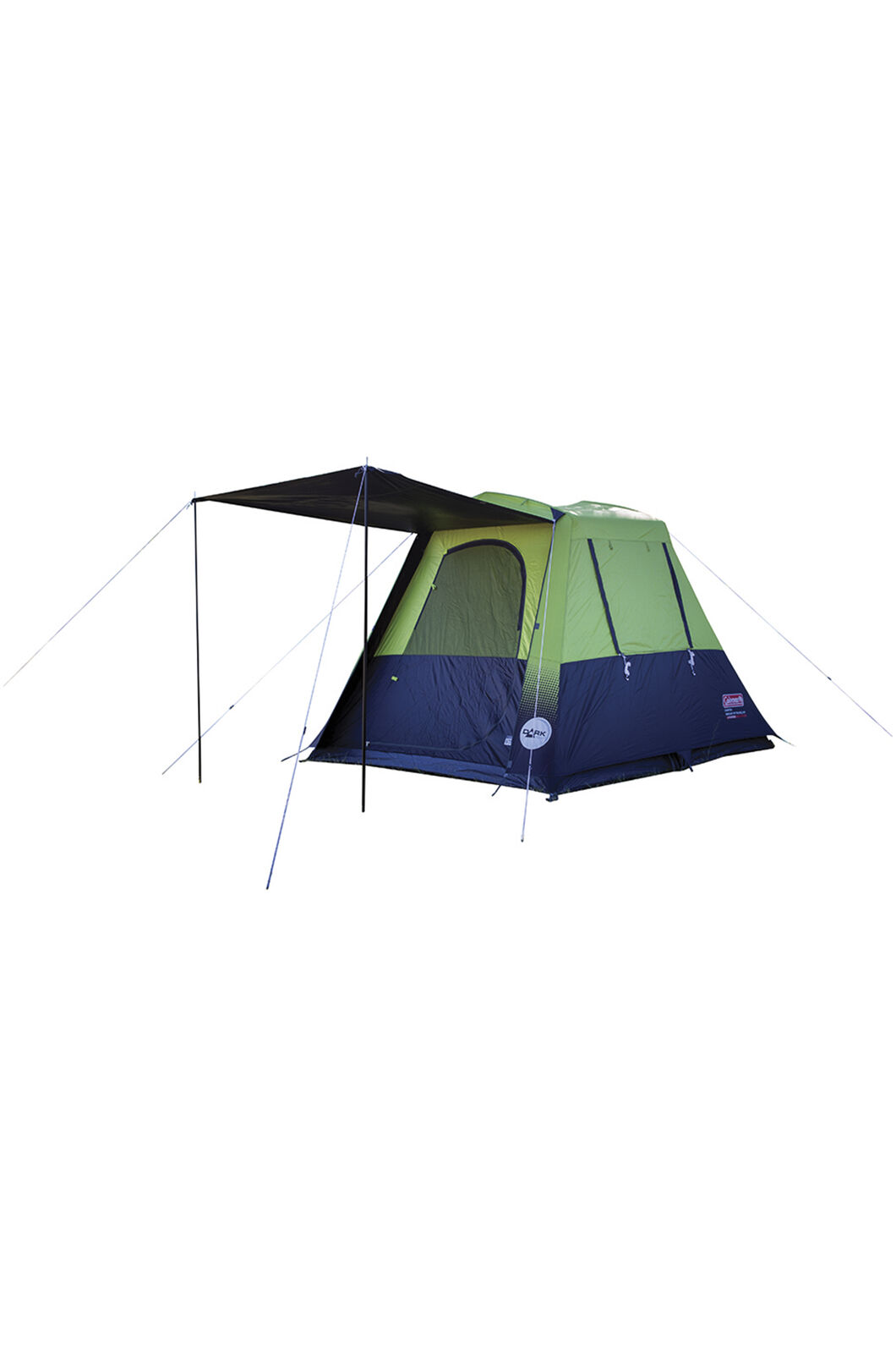 Coleman Instant Traveller Tent with Lighted Darkroom Technology — Four Person, Citronelle, hi-res
