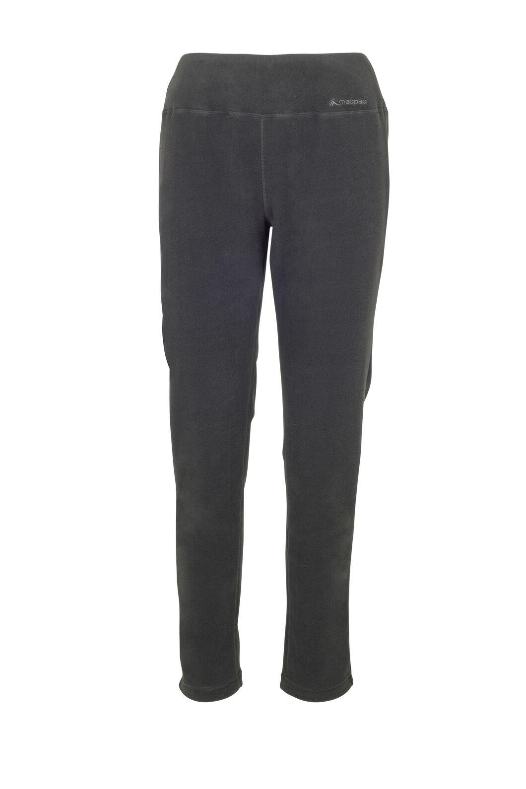 Macpac Kea Polartec® Micro Fleece® Pants — Women's, Black, hi-res