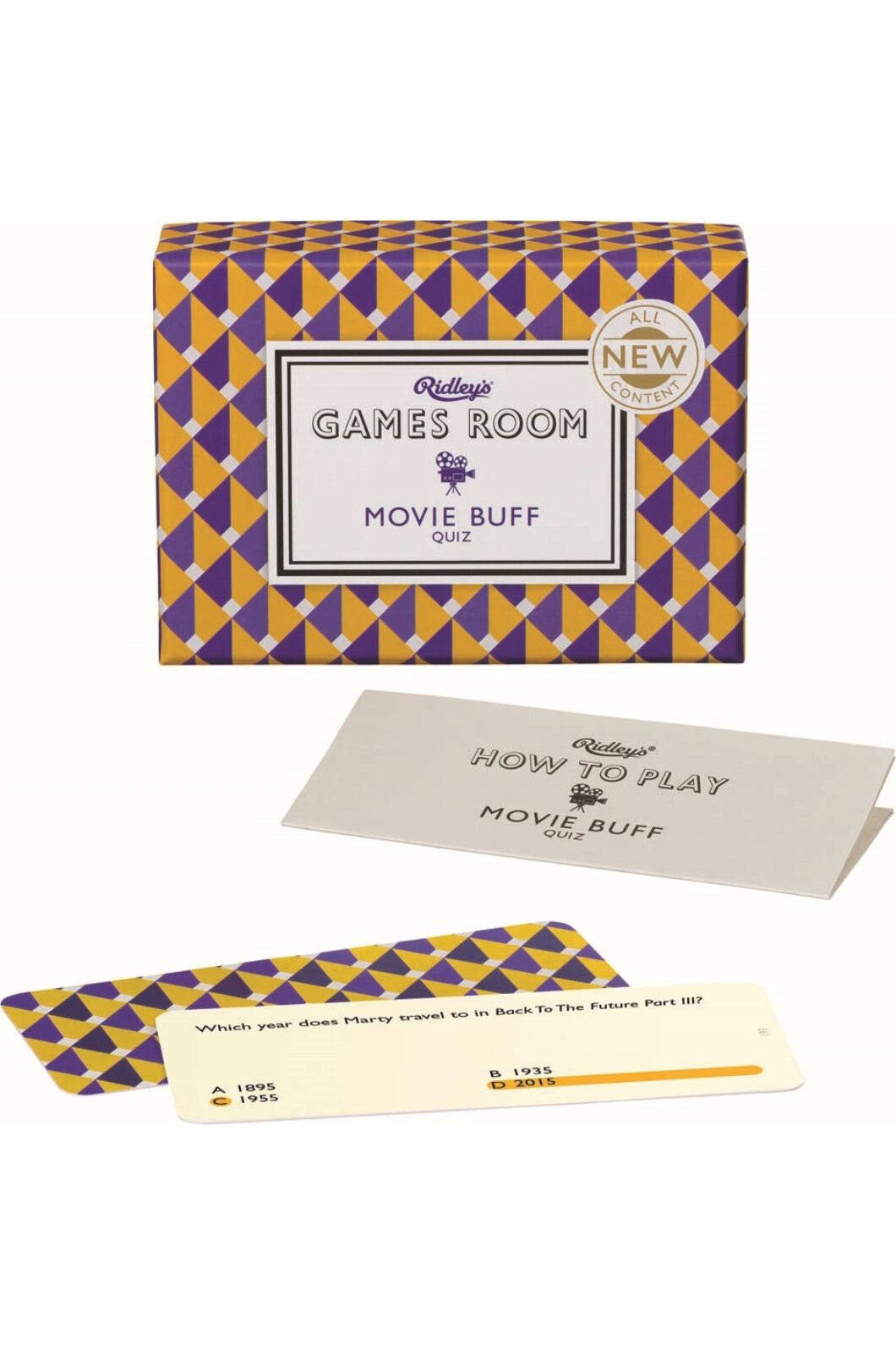 Ridley's Movie Buff Quiz Set, None, hi-res