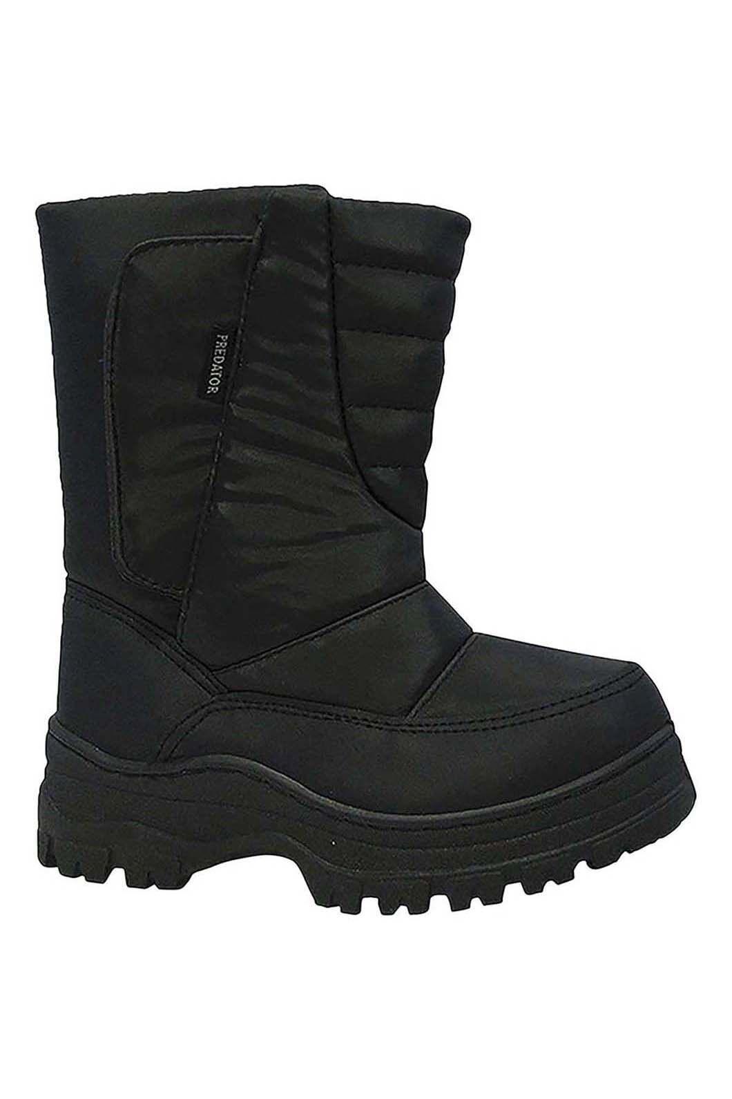 XTM Kids' Pator Snow Boots5-26, Black, hi-res