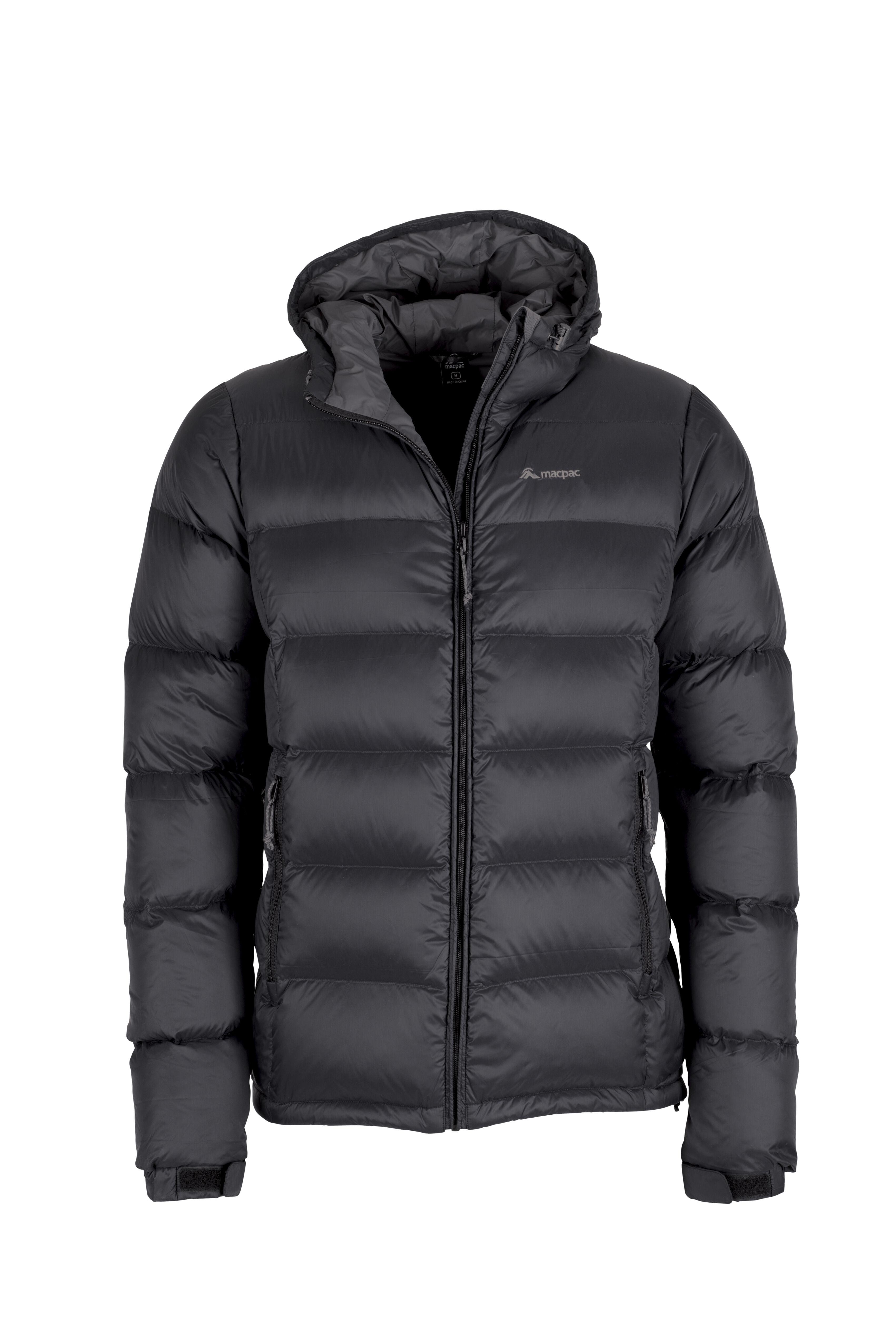 Fine gray blue warm winter coat plus size side tie snow jackets hooded Jackets