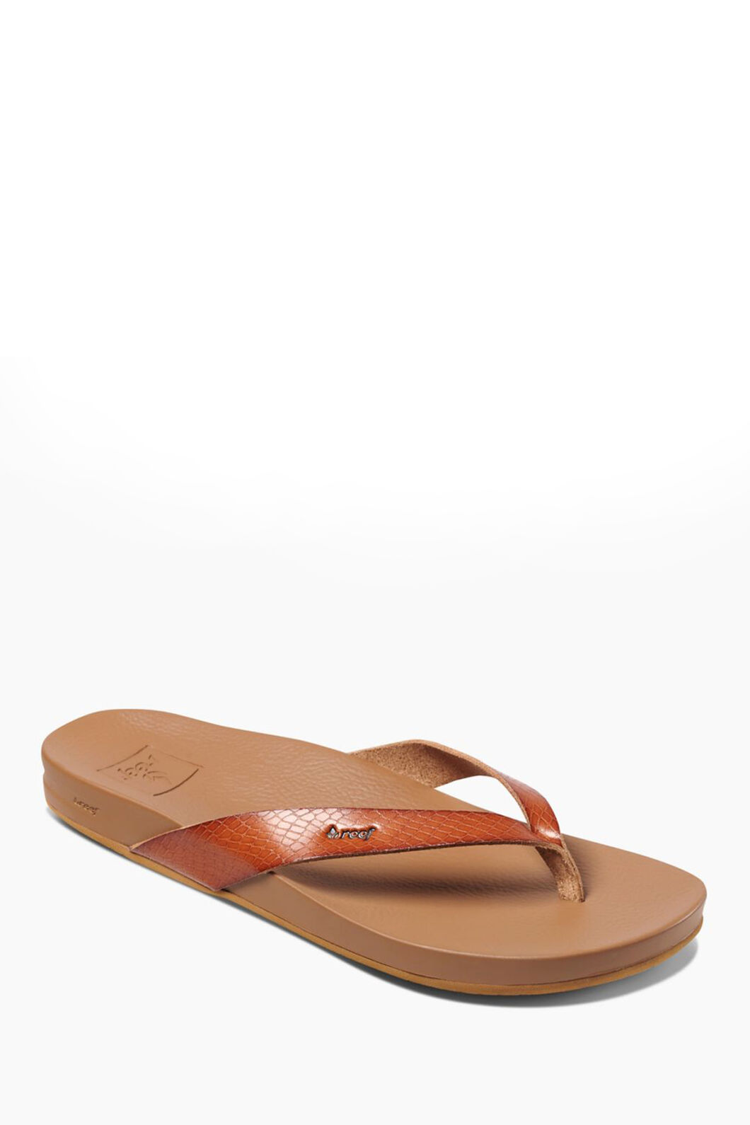 Reef Cushion Bounce Court Sandals — Women's, Brown, hi-res
