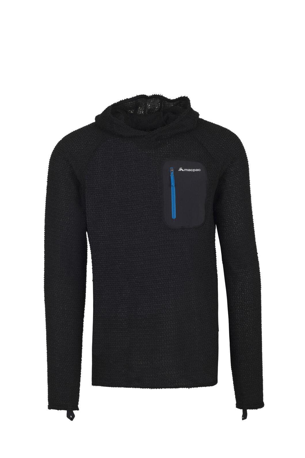 Macpac Nitro Polartec® Alpha® Pullover — Men's, Black, hi-res