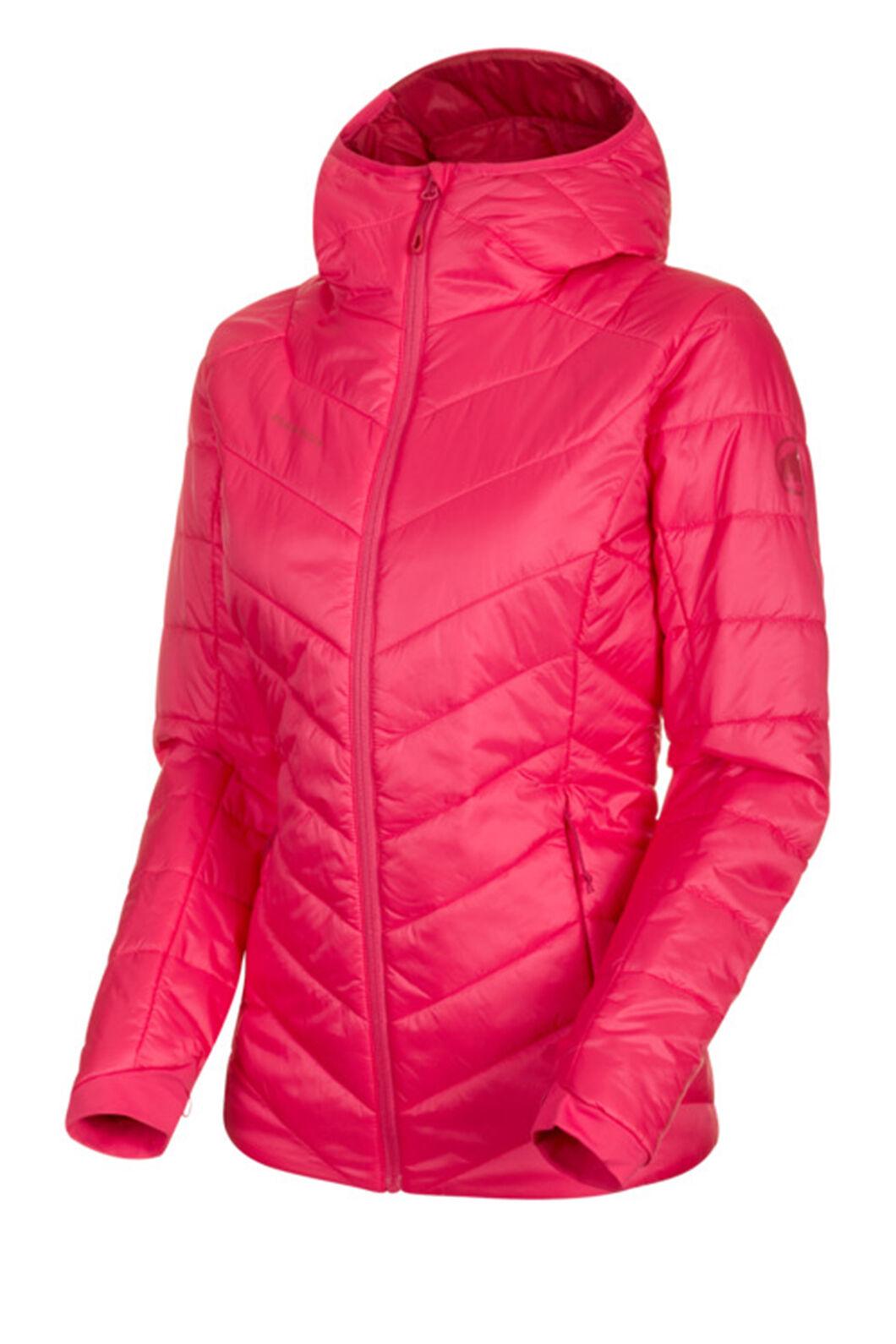 Mammut Rime Hooded Insulation Jacket — Women's, Dragonfruit/Scooter, hi-res