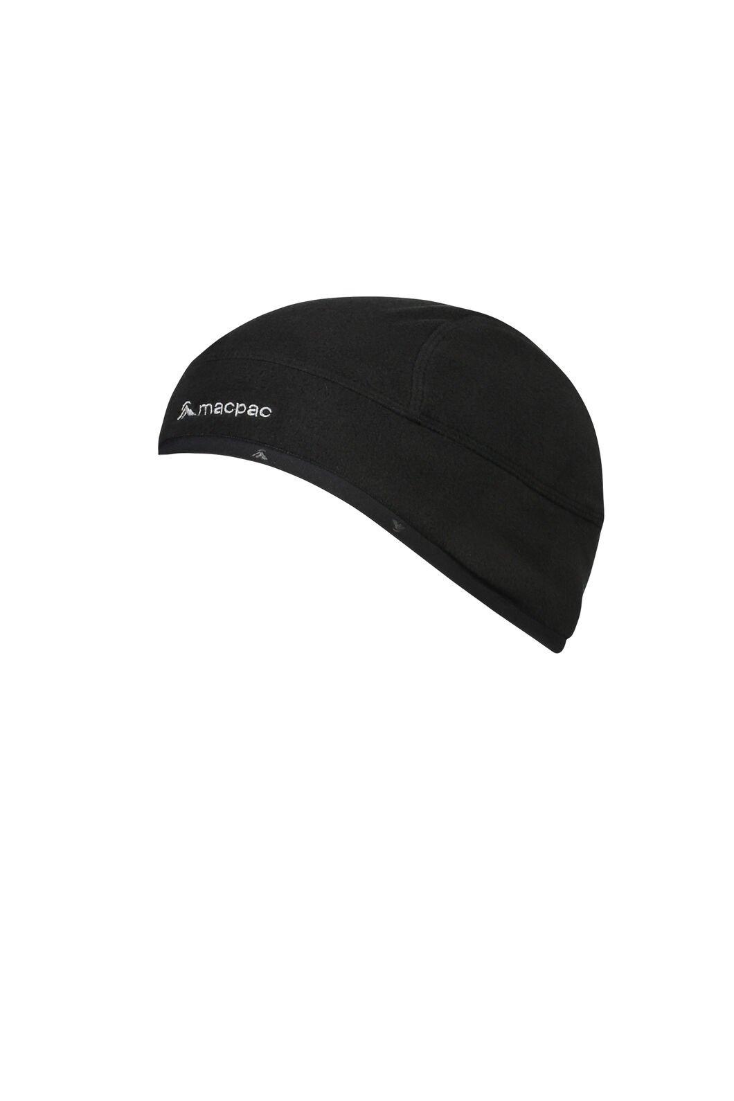 Macpac Hothed Fleece Beanie V3, Black, hi-res