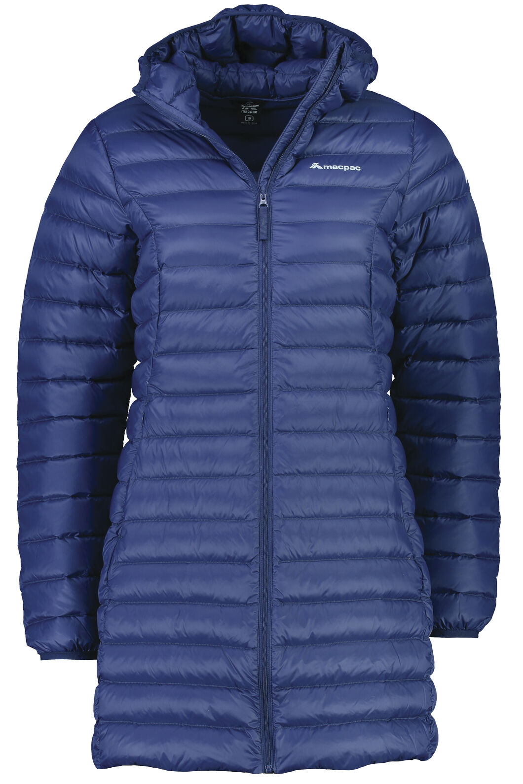 Macpac Uber Light Down Coat - Women's, Medieval Blue, hi-res