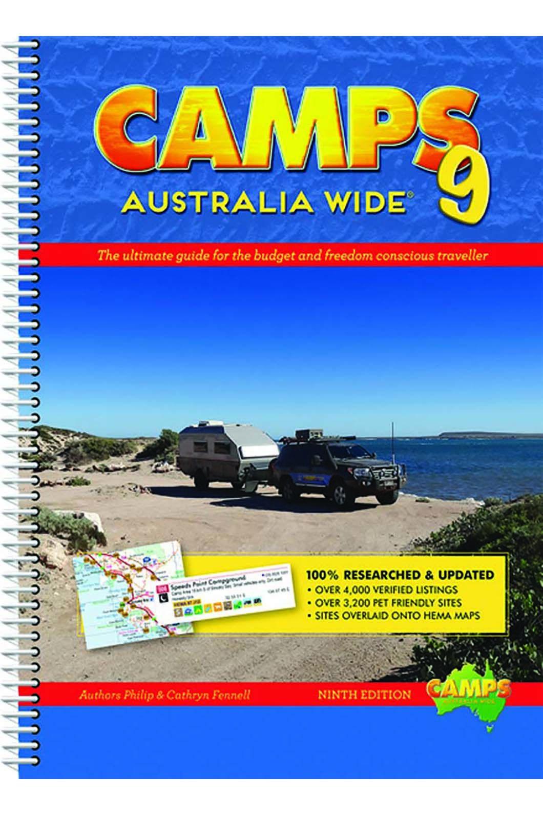 Hema Camps 9 Australia Wide, None, hi-res