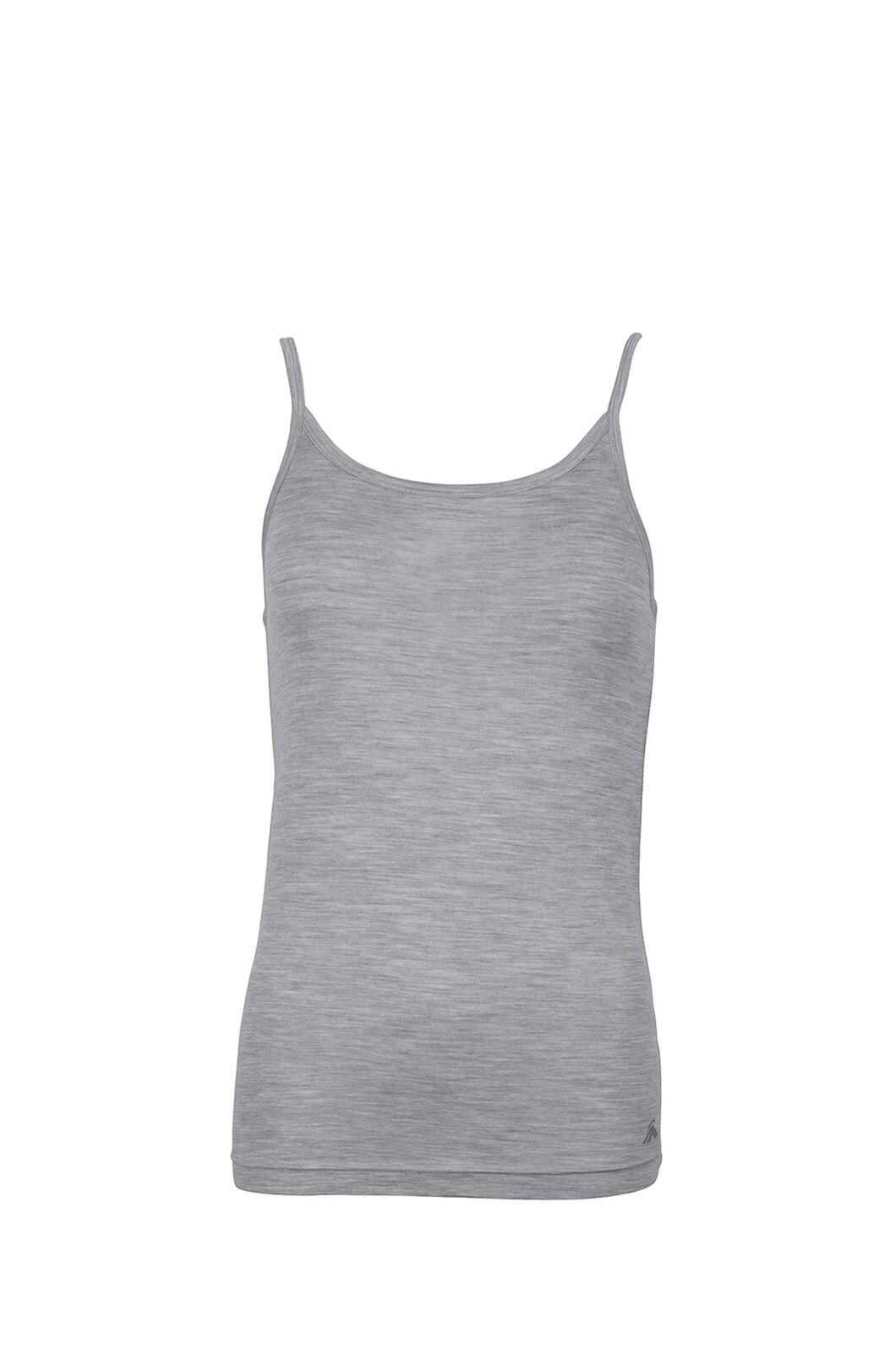 Macpac 150 Merino Camisole — Women's, Light Grey Marle, hi-res
