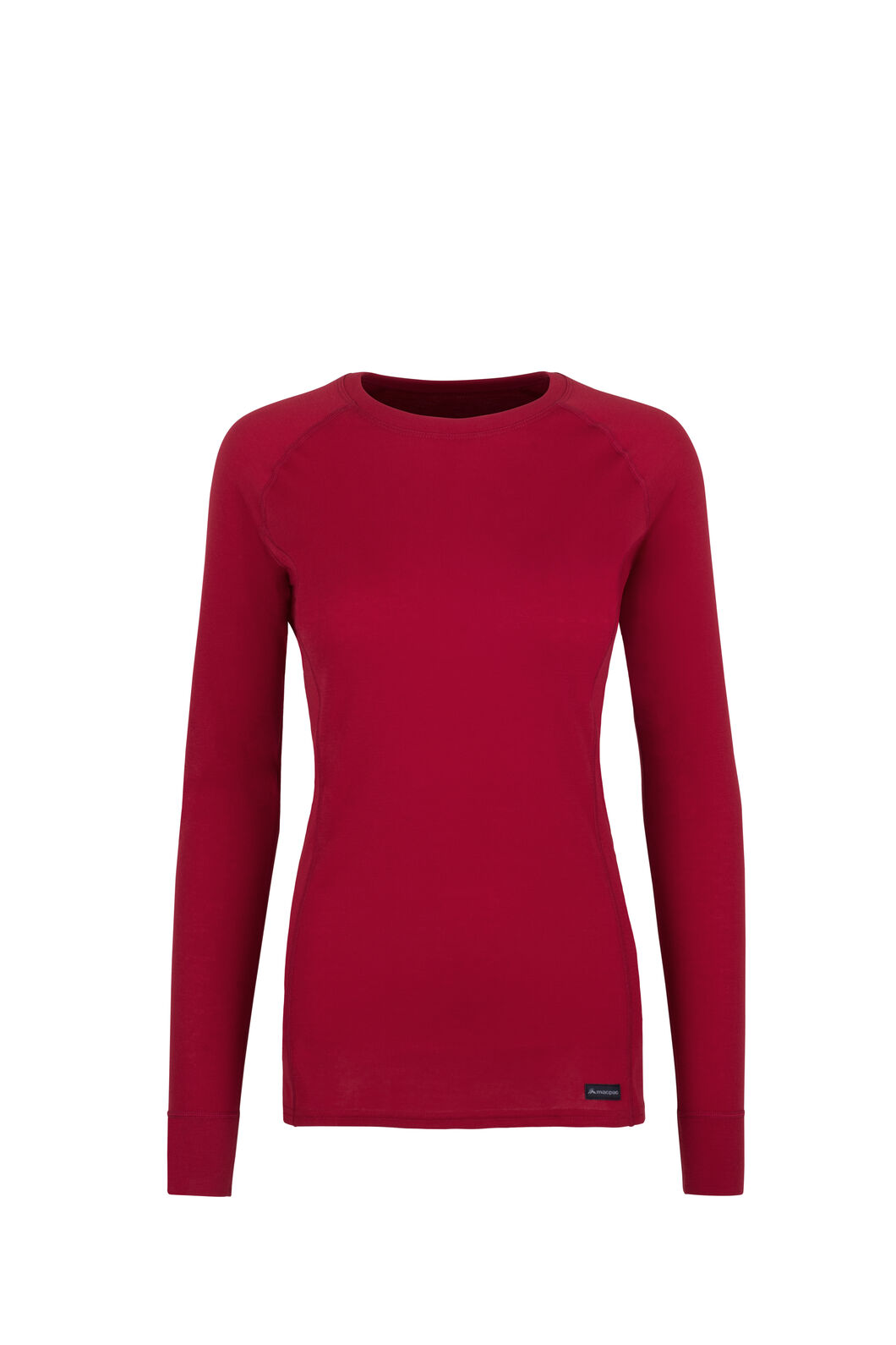 Macpac Geothermal Long Sleeve Top — Women's, Jester Red, hi-res