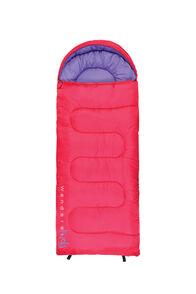 Wanderer Kids' MiniFlame Hooded Sleeping Bag 0, None, hi-res