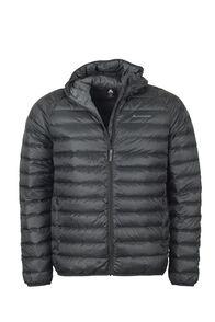 Uber Hooded Down Jacket - Men's, Black, hi-res